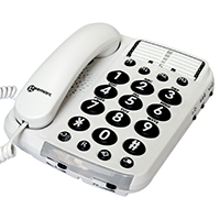 Geemarc Dallas 100VM Amplified Telephone With Voice Modulation