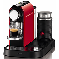 Krups XN710640 Citiz Nespresso With Aerocinno - Red