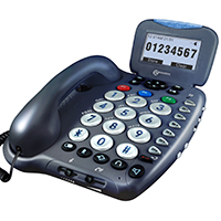 Geemarc CL455 Big Button Amplified Telephone with TAM and Caller ID