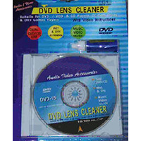 DVD/CD/Optical Lens Cleaner Wet or Dry Application