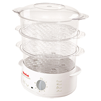 Tefal VC102315 Steam Cusine 3 Tier White Steamer