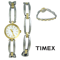 Timex UG0084 Ladies Watch Gift Box Set with Bracelet