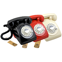 GPO 1970 Traditional Rotary Dialling Telephone