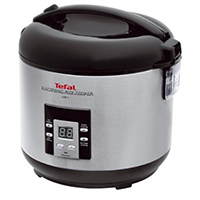 Tefal RK701115 4 in1 Slow Cooker - Brushed Chrome