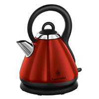 Russell Hobbs 19140 Heritage Metallic Red Kettle 1.8 L