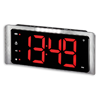 Amplicomms TCL400 Radio Controlled Digital Extra Loud Alarm Clock