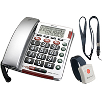 Amplicom BigTel 50 Plus Wireless Emergency Alarm Telephone