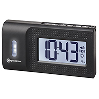 Amplicomms TCL250 Radio Controlled Digital Travel Alarm Clock
