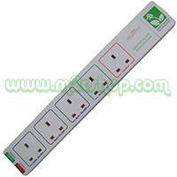 Energy Saving Extension Lead - 5 Gang Surge Protected