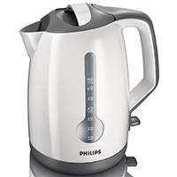 Philips HD4644 Energy Efficient Kettle - White 1.7lt, 3.0kW