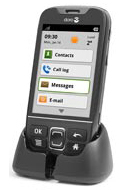Doro 740 PhoneEasy Android 3G GSM Mobile Phone