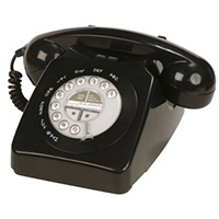 Geemarc Mayfair Two Piece Corded Retro Look Phone