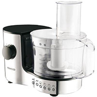 Kenwood FP126 Chrome Compact Food Processor 400W