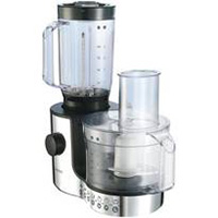 Kenwood FP196 Chrome Compact Food Processor 600W